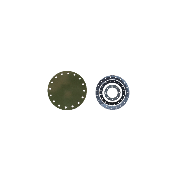 Flange cieche S235JR INOX - Accessori