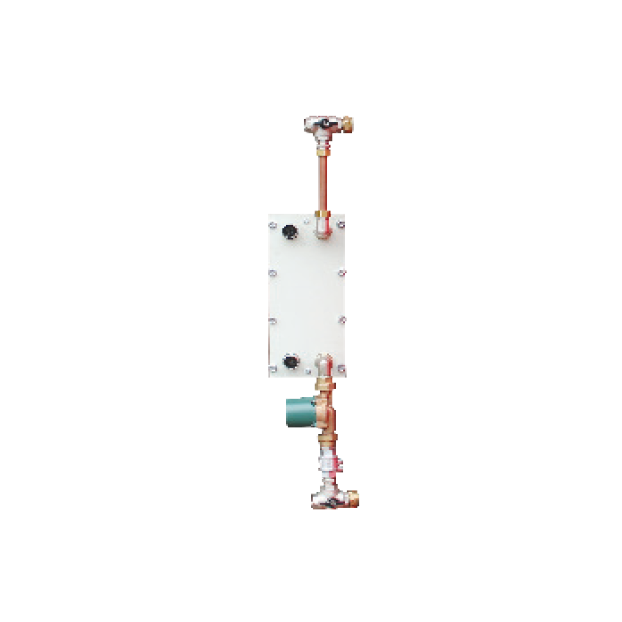 Inspectable plated heat exchanger unit for storage tanks / D.H.W. boilers - Accessories