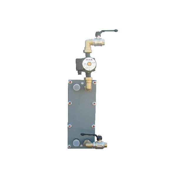 Inspectable plated heat exchanger unit for thermal buffer - Accessories