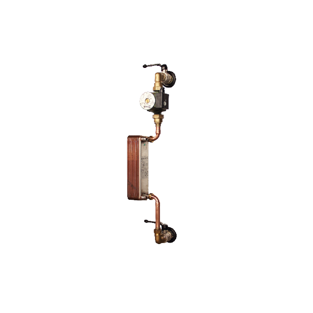 Brazed plated heat exchanger unit for thermal buffer - Accessories
