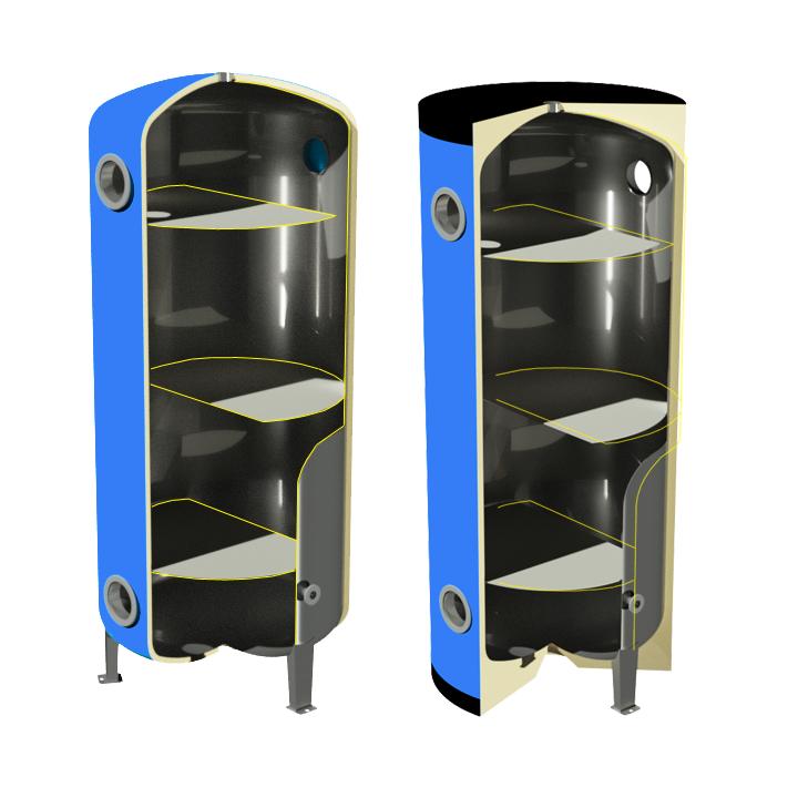 AR/N-S1 - Condizionamento pompe di calore